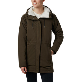 Columbia South Canyon Chaqueta Sherpa Forrada Mujer, olive green